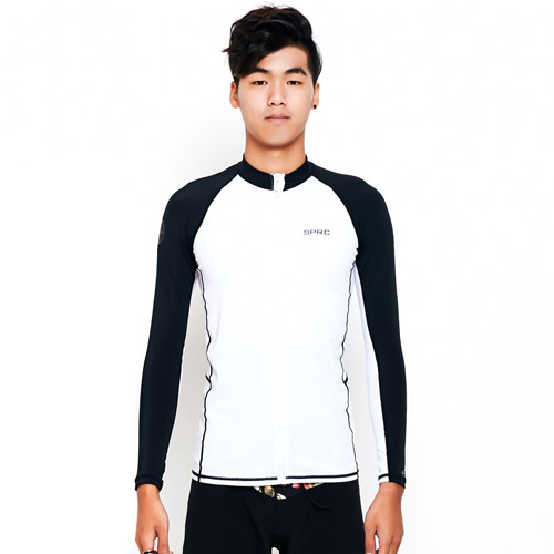 SPRC  M TANTO ZIP-UP RASHGUARD  BW  슈퍼링크 집업 래쉬가드
